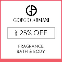 Get Online Offers on Giorgio Armani Products Upto 25% off