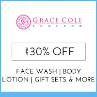 Get Online Offers on Grace Cole Products Flat 10%