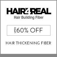 Get Online Offers on HAIR4REAL Products Flat 25%
