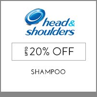Get Online Offers on Head & Shoulders Products Flat 10% off