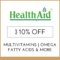 Get Online Offers on HealthAid Products Flat 25%
