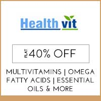Get Online Offers on HealthVit Products Flat 10% off