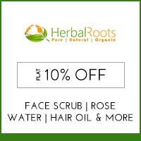 Get Online Offers on Herbal Roots Products Upto 30%