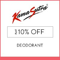Get Online Offers on KamaSutra Products Flat 10% off