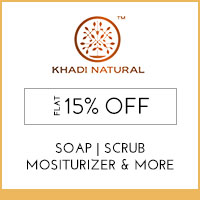 Get Online Offers on Khadi Natural Products Upto 10% off
