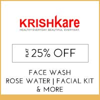 Get Online Offers on Krishkare Products upto 15% off