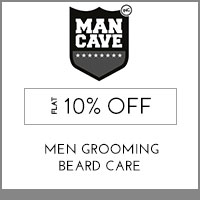Get Online Offers on ManCave Products Flat 15%