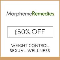 Get Online Offers on Morpheme Remedies Products Flat 10% off