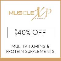 Get Online Offers on MuscleXP Products FLat 10% off