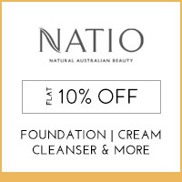 Get Online Offers on Natio Products Flat 15%