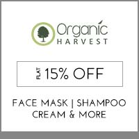 Get Online Offers on Organic Harvest Products Upto 15% off