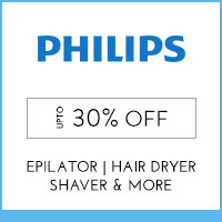 Get Online Offers on Philips Products Up to 30% off