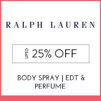 Get Online Offers on Ralph Lauren Products Upto 25% off