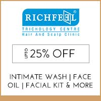 Get Online Offers on Richfeel Products Upto 20% off