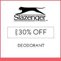 Get Online Offers on Slazenger Products Flat 25% off