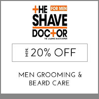 Get Online Offers on The Shave Doctor Products Flat 10%