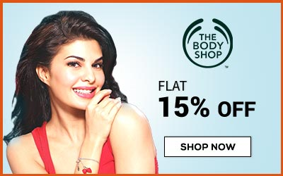 The Body Shop flat 15% OFF