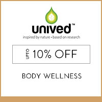 Get Online Offers on Unived Products Flat 25% off