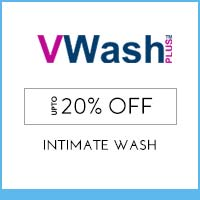 Get Online Offers on VWash Products Flat 10%
