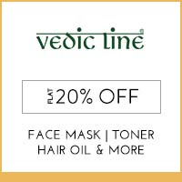Get Online Offers on Vedic Line Products Flat 10% off