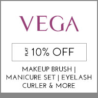 Get Online Offers on Vega Products Flat 10%