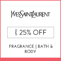 Get Online Offers on Yves Saint Laurent Products Upto 25%