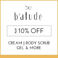 Get Online Offers on Batude Products Flat 20% off