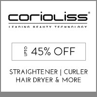 Get Online Offers on Corioliss Products Up to 45% off