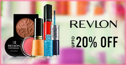 Get Online Offers on Revlon Products Flat 20%