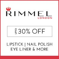 Get Online Offers on Rimmel Products Flat 20%