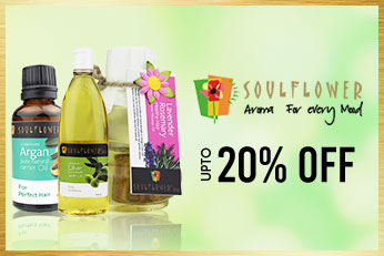 Get Online Offers on Soulflower Upto 20%