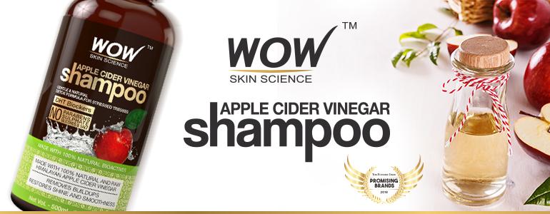 WOW Skin Science Apple Cider Vinegar Shampoo(300ml)