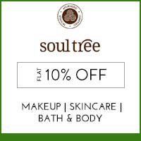 Get Online Offers on SoulTree Products Upto 20% off