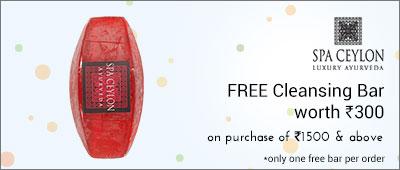 Spa Ceylon free product