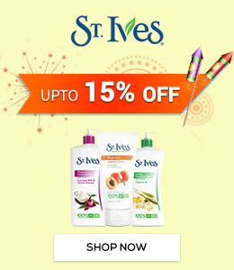 Get Online Offers on St Ives Products Upto 15%