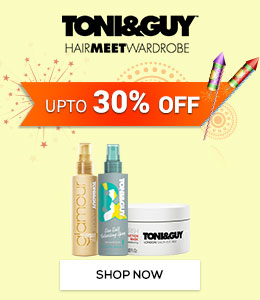 Get Online Offers on Toni&Guy Products Upto 30%