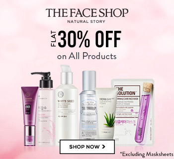 The Faceshop Skin Products – Online Shopping Offers