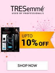 Get Online Offers on Tresemme Products Upto 10%