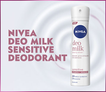 Nivea Deo Milk Sensitive Deodorant