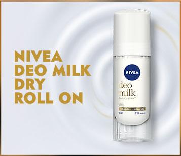 Nivea Deo Milk Dry Roll On