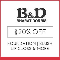 Get Online Offers on  Bharat & Dorris Products