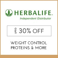 Get Online Offers on  Herbalife Products  Upto 30% off