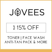 Get Online Offers on  Jovees Products