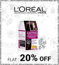 Nykaa: Flat 20% off on L'OREAL products