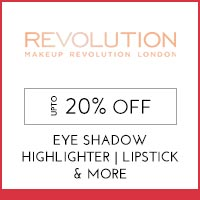 Get Online Offers on  Makeup Revolution Products  Upto 20% off