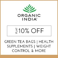 Get Online Offers on  Organic India Products