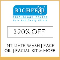 Get Online Offers on  Richfeel Products
