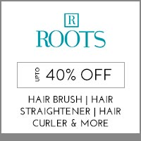 Get Online Offers on  Roots Products  Up to 40% off