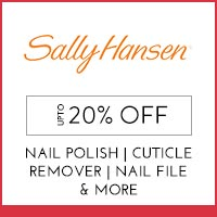 Get Online Offers on  Sally Hansen Products