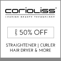 Get Online Offers on  Corioliss Products  Up to 50% off